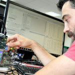 The UltraDevelop 2 integrated development environment (IDE) provides a system-level view of SoC hardware and software