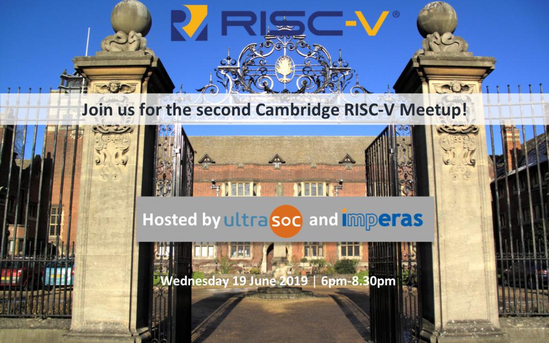 Cambridge RISC-V Meetup