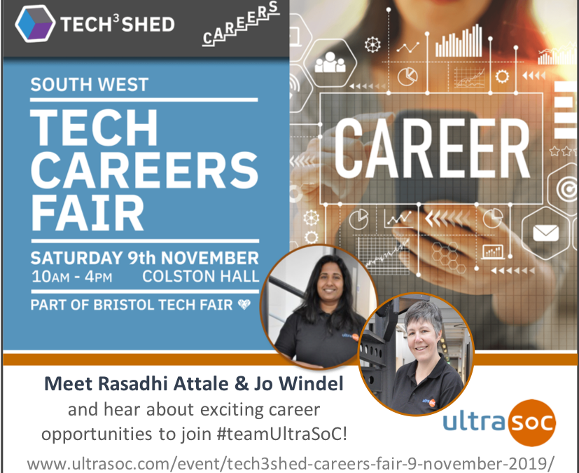 Tech3Shed Careers Fair – 9 November 2019