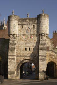 Bootham Bar Roman gateway