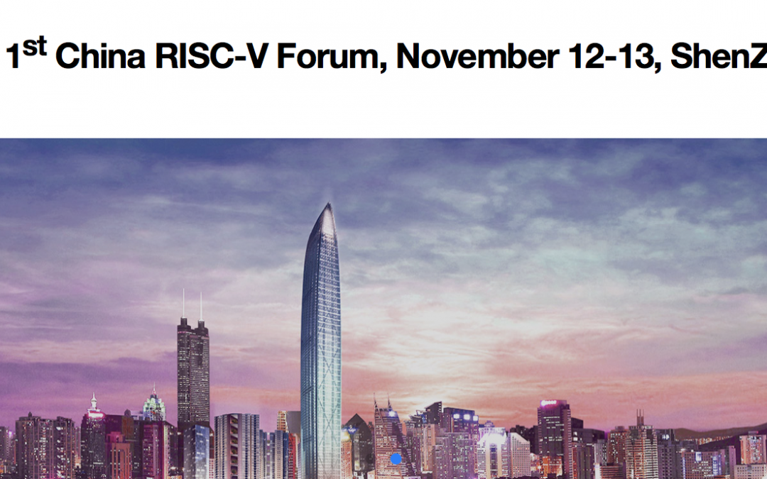 China RISC-V Forum Day
