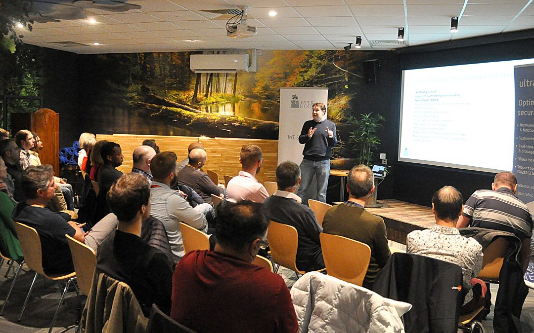 Cybersecurity meetup tackles risks and legislation